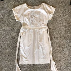 Anthropologie NTW White dress